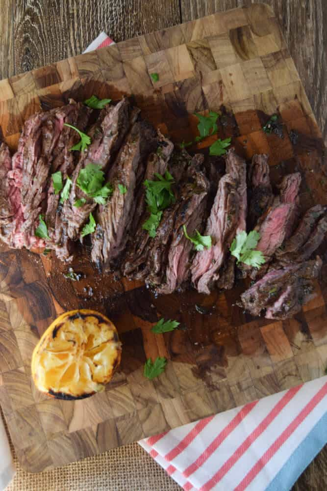 Herbed Skirt Steak